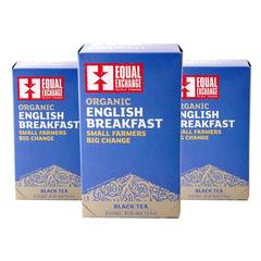 Equal Exchange English Breakfast Tea 20 3-Pk Black Tea