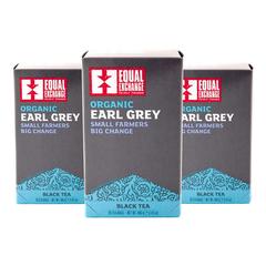 Equal Exchange Early Grey Tea 20 Bags 3-Pack Black Tea