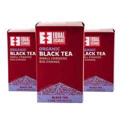 Equal Exchange Black Tea 20 Bags 3-Pack Black Tea