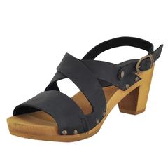 Sanita Olympia Square Flex Sandal Ankle Strap