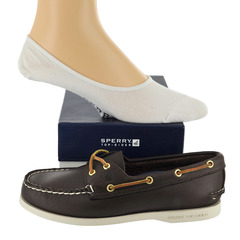 Sperry A/O 2-Eye & Canoe Liner Sock Boat Shoes