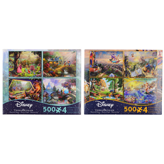Ceaco 4 In 1 Multipack Puzzle 2 Pack 500 Pc. Jigsaw Puzzle