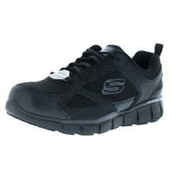 Skechers Work Rel Fit:telfin-Sanphet Sr Slip Resistant