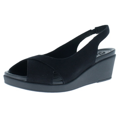 Crocs Leigh Ann Slingback Wedge Wedge Sandals