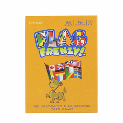Geotoys Flag Frenzy Card Game Geographic Cards