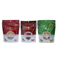 Fruitables Apple Bac/Pumpk Appl/Straw 3Pk DOG TREATS