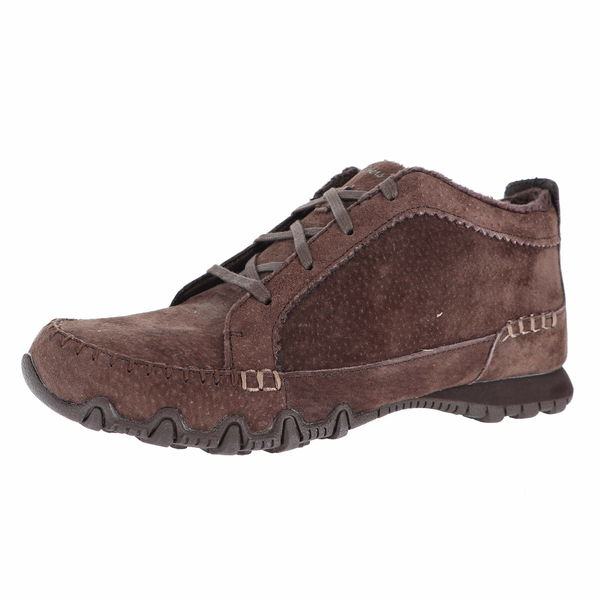 Skechers RELAXED FIT: BIKERS - LINEAGE MID TOP SHOE