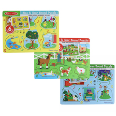 Melissa And Doug Nurery Rhymes/Old Macdonald F Learning Boards