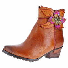 L Artiste By Spring Step Louella High Ankle Boots