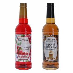 Jordan's Skinny Syrup Sugar Free Syrup Peanut B/Rasp Sugar Free