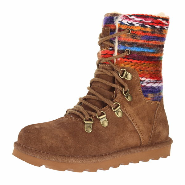 Maria Bearpaw High Ankle Boots