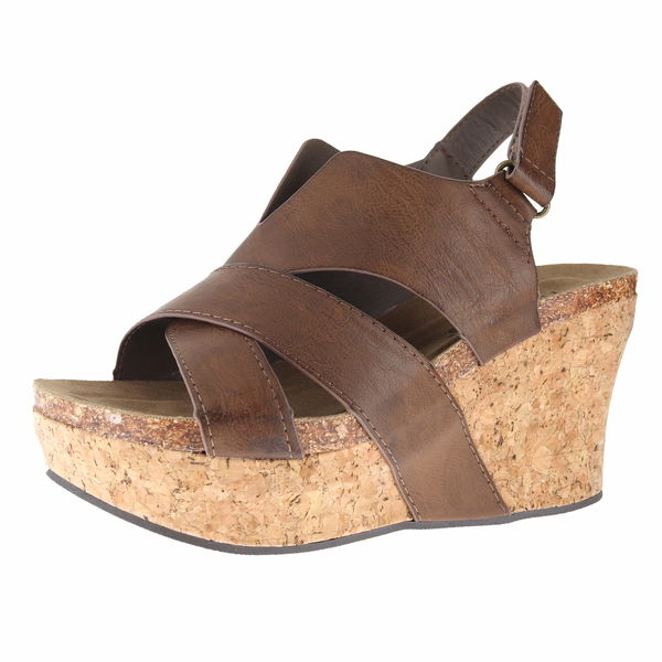 Pierre Dumas 22616 Wedge Sandals