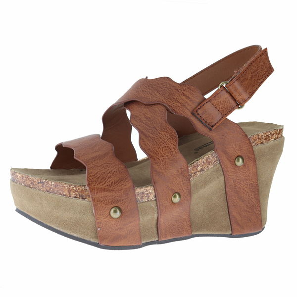 Pierre Dumas 22603 Wedge Sandals