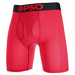 Psd Modal Red With Black Waistband Boxer Brief