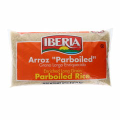 Iberia Parboiled Rice 5 Lb PARBOILED