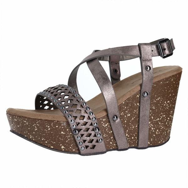 Pierre Dumas Ellie-5 Wedge Sandals