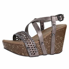 Pierre Dumas Ellie-5 Wedge Sandals