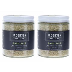 Jacobsen Salt Co Basil Salt 2-Pk