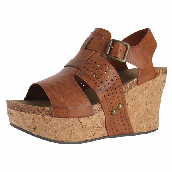 Pierre Dumas 22627 Wedge Sandals