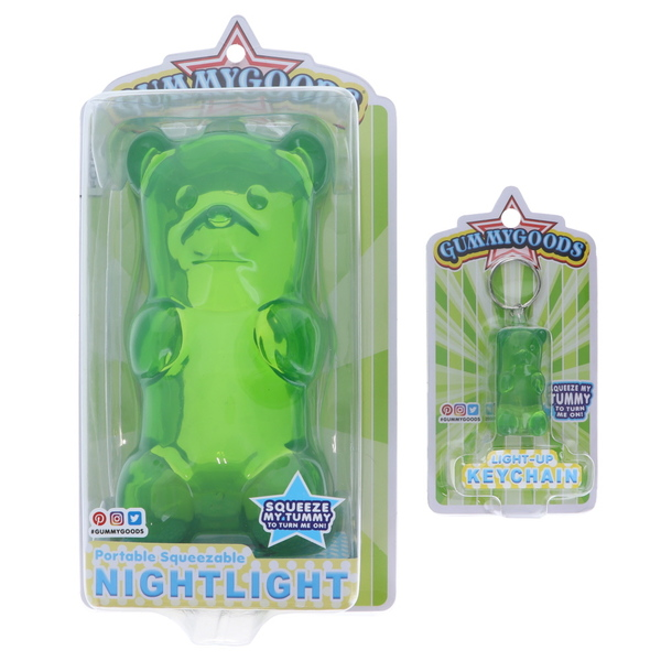 Fctry Gummygoods Nightlight/Keychain