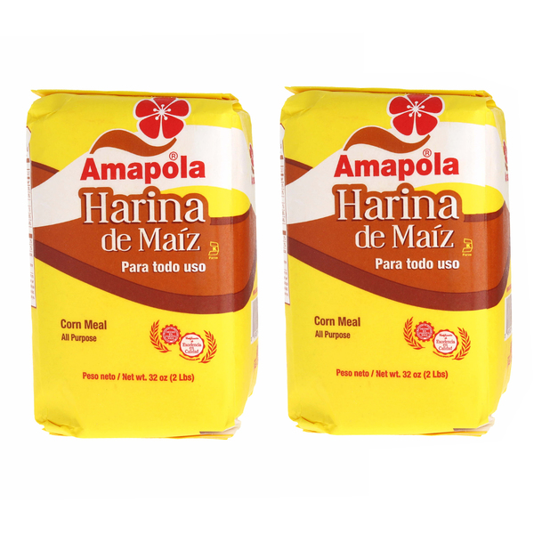 Amapola Corn Meal 2 Ibs 2Pks Flours & Meals