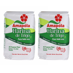 Amapola Enriched Flour 2Lb 2P Flours & Meals