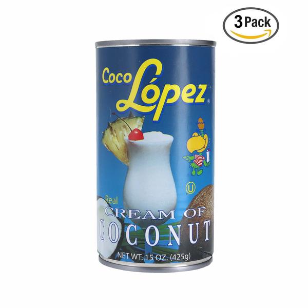 Coco Lopez Cream Of Coconut 3P 15 OZ