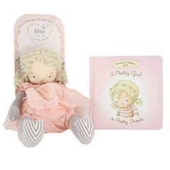 Bunnies By The Bay A Pretty Girl Board Book/Elsie Book And Doll