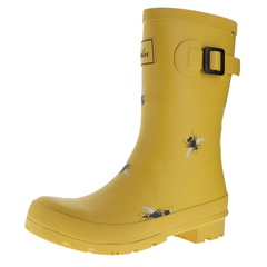 Joules Molly Welly Mid Height Print Rain Boots