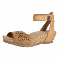 Earth Origins Kendra Krystal WEDGE SANDALS