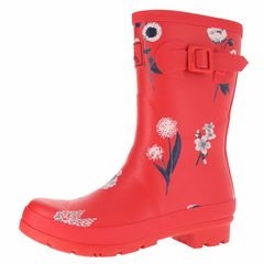 Joules Molly Welly Mid Heigh W Print Rain Boots
