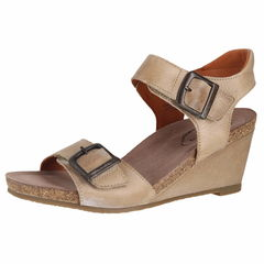 Taos Buckle Up Wedge Sandals