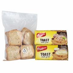 Bauducco Toast Multigrain 5.64 Oz 2 Pk