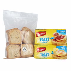 Bauducco Toast Traditional 5.64 Oz 2Pk