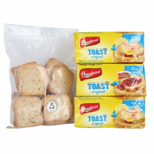 Bauducco Toast Traditional 5.64 Oz 3 Pk