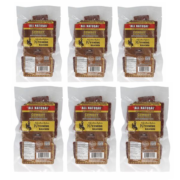 Wyoming Gourmet Beef Cowboy Beef Bites 2 Oz 6 Packs