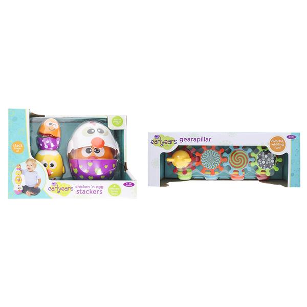 Epoch Everlasting Play Gearapillar/Chicken & Egg Stac