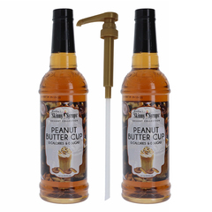 Jordan's Skinny Syrup Peanut Butter Syrup 2Pk/1 Pump