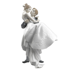 Lladro The Happiest Day Collectible Figure