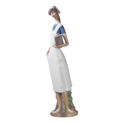 Lladro Nurse Collectible Figure