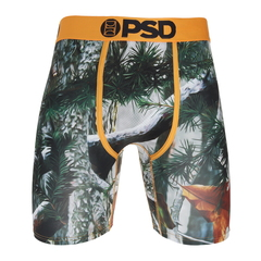 Psd New Orange Camo Boxer Brief
