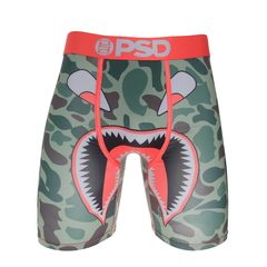 Psd Green Camo Warface Boxer Brief