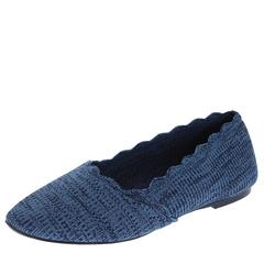 Skechers Newford-Scalloped Knit Skimmer Slip-On