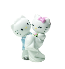 NAO BY LLADRO Hello Kitty Gets Married COLLECTIBLE FIGURE