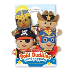 Melissa And Doug Bold Buddies Hand Puppets Play Set