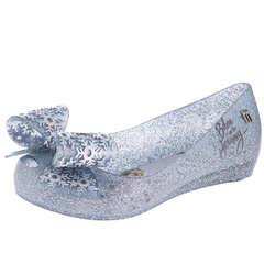 Mini Melissa Mel Ultragirl + Froz Peep Toe