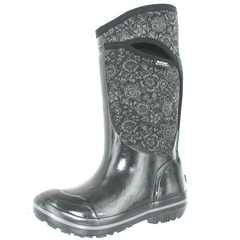 Bogs Plimsoll Quilted Floral Tall Rain Boots
