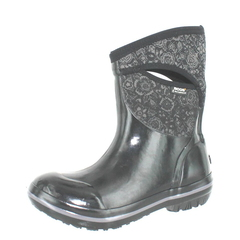 Bogs Plimsoll Quilted Floral Mid Rain Boots
