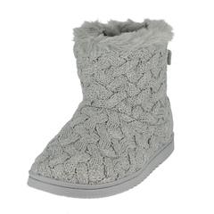 Dearfoams Basket Weave Boot Slippers