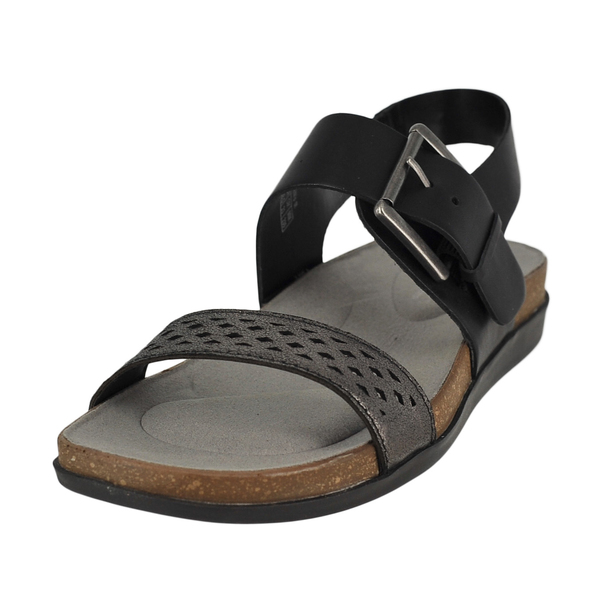 Rockport Romilly Buckled Qtr Strap Flats